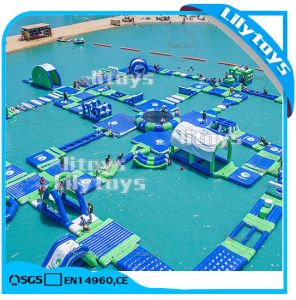 2017 Giant Hot Inflatable Toys Water Park for Lake pictures & photos