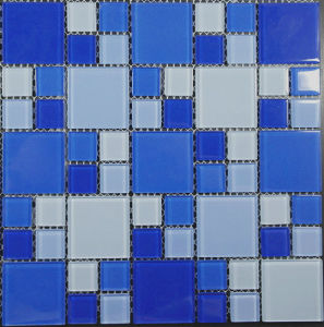 Decorative Swimming Pool Building Material Glass Mosaic Tile pictures & photos