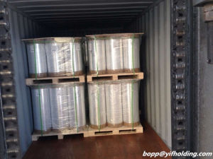 Silver Metallized BOPP Film Widely Used for Lamination, Printing, Sticker and So on pictures & photos