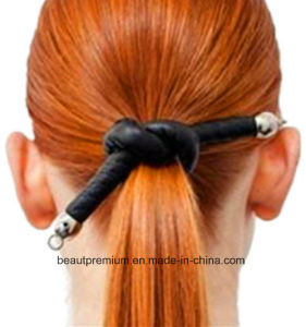 Fashion Leather Hairband for Girls BSCI Audit Hair Ornaments BPS0146