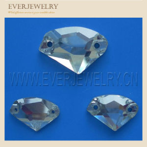 Crystal Rhinestone Sewing Stone Sew on Stone 7*21 Rectangle pictures & photos