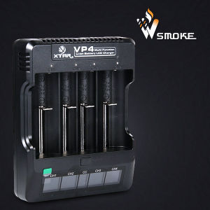 High Quality 18650 Battery Charger Xtar Vp4 4 Slots Charger pictures & photos