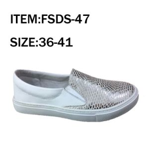 New Style Women Casual Shoes Slip-on Shoes (FSDS-47) pictures & photos