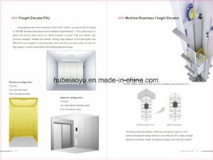 High Quality Warehouse Goods Cargo Freight Elevator Passenger Lift pictures & photos