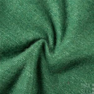 Good Luster Mixed Wool Fabric in Green pictures & photos