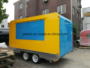 New Design Mobile Food Catering Kitchen Van pictures & photos
