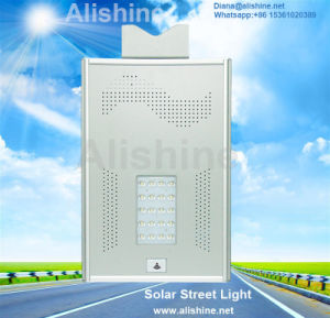 Outdoor Lamp All in One Lighting Solar Street Light with Solar Panel pictures & photos
