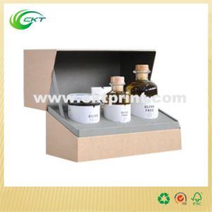 Rigid Cardboard Cosmetic Set Packing Box (CKT-CB-411)