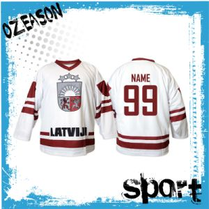 OEM Team Training Youth Kids Ice Hockey Shirts (H023) pictures & photos