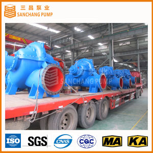 Single Stage Double Suction Axially Split Case Pump for Transfering Large Quantity Liquid pictures & photos