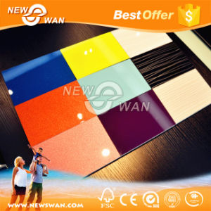 Interior Decorative UV MDF Board with Mr / E1 / E2 Glue pictures & photos