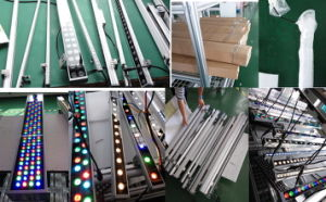 Linear Bar Wall Washer LED Lighting Fixture Cool White Outdoor Stage Stoptlight pictures & photos