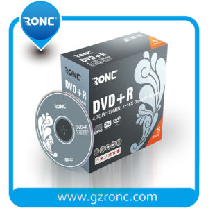 Blank DVD-R/DVD+R, Packed in 5.2mm Slim Jewel Box pictures & photos