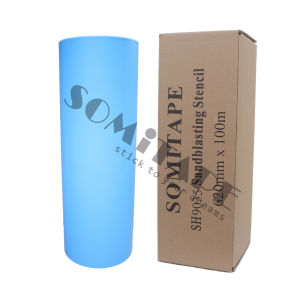 Somitape Sh3035 Easy Tear Fine Line Sandblasting Film Etch for Blasting pictures & photos