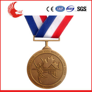 Fashionable Cheap 3D Logo Metal Finisher Medal pictures & photos