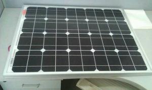 55W Monocrystalline Silicon Sunpower Solar Panel Suit for Solar Street Light