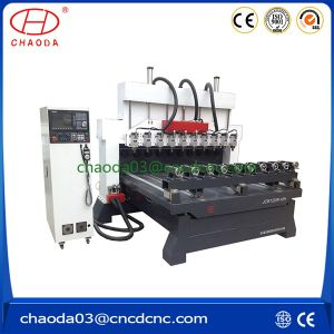 Jcw1325r-10h CNC Woodworking Router with Multi Heads pictures & photos