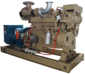 High Voltage 250kVA Electric Diesel Generator for Boat pictures & photos