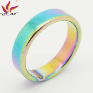 Htr-001A 6mm Colorful Magnetic Jewellery Fashion Ring
