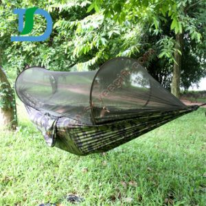 Cheaper and Goods Quality Hammock with Mosquito Net pictures & photos