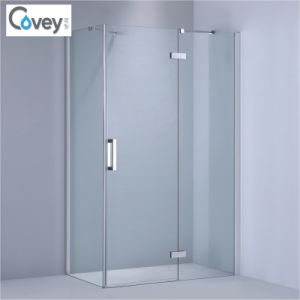 Adjustable Frameless Shower Enclosure / Simple Shower Room (1-KW06) pictures & photos
