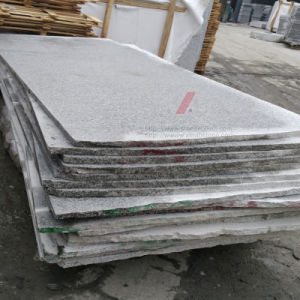 Polished/Flamed Grey Granite Half/Big Slabs (G603 New) pictures & photos