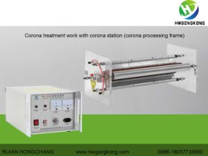 Surface Corona Treater for Film Printing Machine (HW2002 2kw) pictures & photos