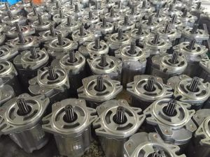 Hydraulic Gear Oil Pump 2-Tage Pump Cbk1016/1006 High Pressure Double Pump pictures & photos