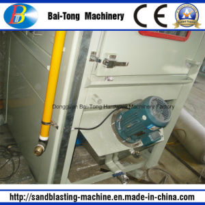 Turntable Type Automatic Wet Sandblasting Machine for Turbo Parts pictures & photos