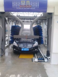 Fully Automatic Tunnel Car Washing Machine System Equipment Steam Machine for Cleaning Manufacture Factory Fast Washing 9 Brushes pictures & photos