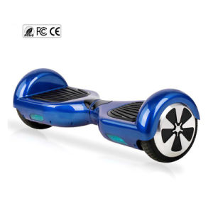 6.5inch 2wheel Self Balance Standing Scooter Electric Skateboard Steering-Wheel Smart Electric Scooter pictures & photos