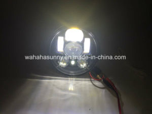 Hot Sale High Quality Round LED Projection Daymaker Headlight for Harley Davidson Motorcycles pictures & photos