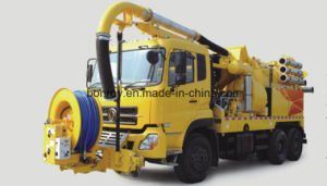 Combination High-Pressure Cleaning Vacuum Sewage, Sewage Sludge Circulation Dredging Vehicle/Truck pictures & photos