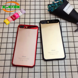 Electroplating Shockproof PC Clear Phone Case for iPhone pictures & photos