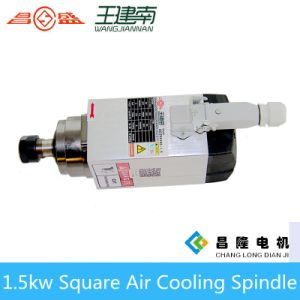 Gdz Air Cooling Spindle Series 1.5kw Square Three-Phase Asynchronous AC Spindle Motor for Wood Carving pictures & photos