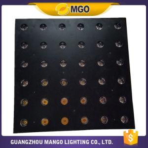 Stage DMX Amber 6X6 LED Matrix Disco Lighting