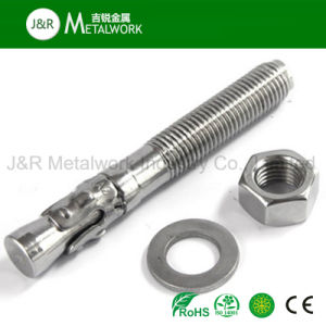 Ss304 Ss316 Stainless Steel A2 A4 Wedge Anchor Bolt pictures & photos