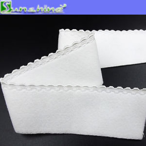 20mm White Underwear Picot Elastic Webbing in Stock pictures & photos