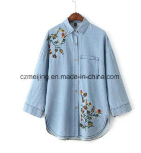 Jeans Women`S Embrodiered Shirt