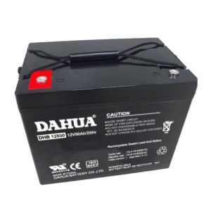 12V 80ah VRLA Sealed Lead Acid Maintenance Free UPS Battery pictures & photos