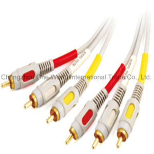 3 RCA Plugs-3 RCA Plugs Cable pictures & photos