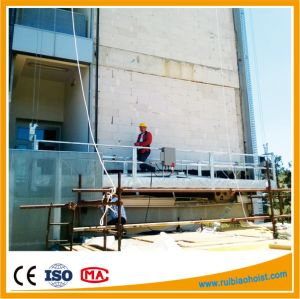 Zlp1000 Aliuminum Construction Cradle Gondola Scaffold with Counter Weight pictures & photos