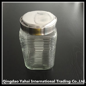 1650ml Clear Square Jars for Storage Food pictures & photos