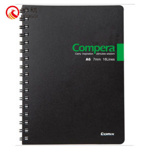 PP Cover Notebook Spiral Binding pictures & photos