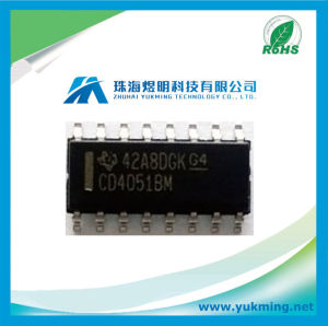 Integrated Circuit CD4051bm of Switch IC pictures & photos
