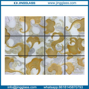 Factory Wholesale Art Decorative Stained Color Ceramic Frit Digital Printing Glass pictures & photos