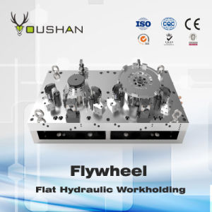 Flywheel Hydraulic Fixture