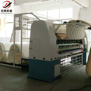 Automatic Mattress Cover Quilting Making Machine pictures & photos
