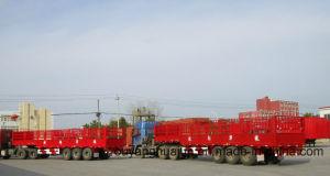 Rear Tipper Platform Self Dump Semitrailer pictures & photos