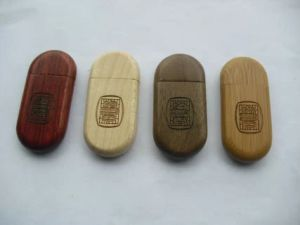 Wedding Gift USB Wood 2.0 Memory Stick Flash Pen Drive Wooden 4GB-32GB Bulk Sales pictures & photos